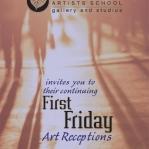 First Friday Art Walk Postcard