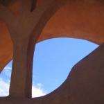 Blue Sky Through Arch