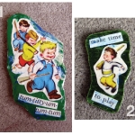 Boys Marching Magnet Set