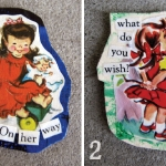 Girls Magnet Set